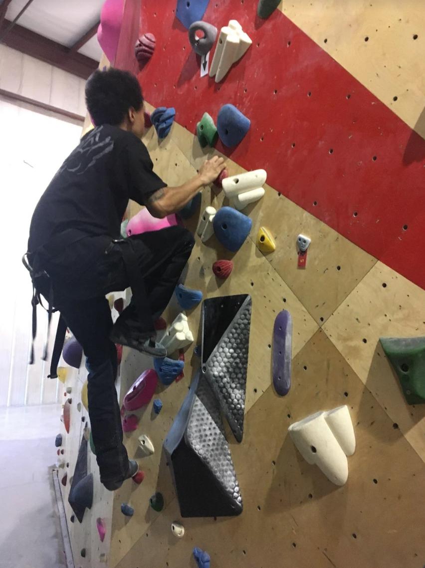 Rock Climbing Challenge